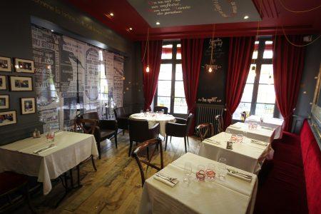 brasserie rennes décoration vintage