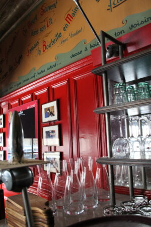 travaux peinture la chope restaurant rennes
